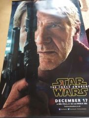 Star Wars The Force Awakens - Promotional Drop Banners X5