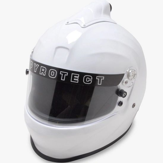 Pyrotect TFA ProSport Helmet - Full Face Duckbill Top Forced Air SA2015
