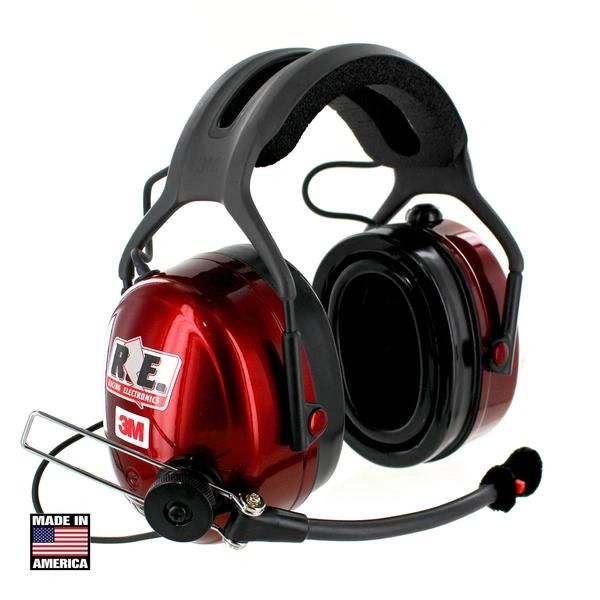 3M Racing Electronics Platinum Headset with Scanner Option