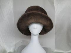 Hat - Finest Possible Mink Fur Hat, Brim Soft & Floppy