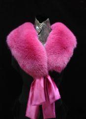 Stole, Wrap, Scarf, Fling - Genuine Fox Fur Stole, Wrap, Scarf, Fling