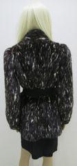 "Mink Fur Coat - Genuine Natural Ranch & White Mink Section Coat, Jacket Style, ""PL"" Collection Piece"