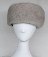 Headband - Exquisite Genuine Blue Iris Mink Fur Headband