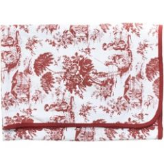 Toile Baby Blanket