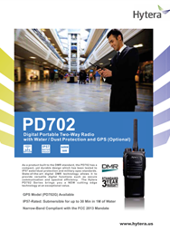 PD-702 Digital Portable Two Way Radio