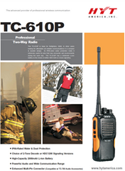 TC-610P Professional Two Way Radio