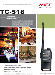 TC-518 Professional Two Way Radio