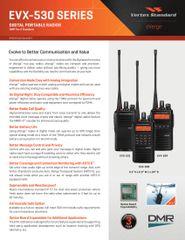 EVX-530 SERIES DIGITAL PORTABLE RADIOS