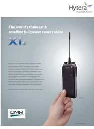 X1e- World's Thinest & Smallest Full Power Covert Radio