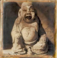 """""""Desert Om Cube"""" Buddha Box Encaustic"""