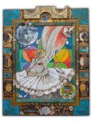 Señora Conejita de la Luna Blanca - (SOLD)