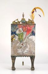 Nectar Bunny Curio Cabinet