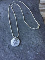 Cusom Paw Print Charm & Necklace