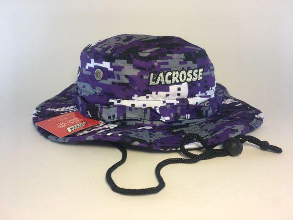 Purple Lacrosse Digital Camo Bucket Hat  bd304f718f0