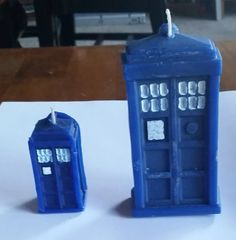 Police Box Candle