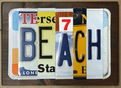 C. Custom Sign - 5 Letters