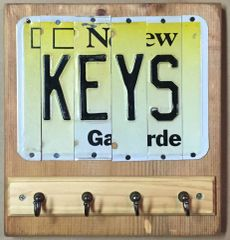P. NJ Key Holder Sign