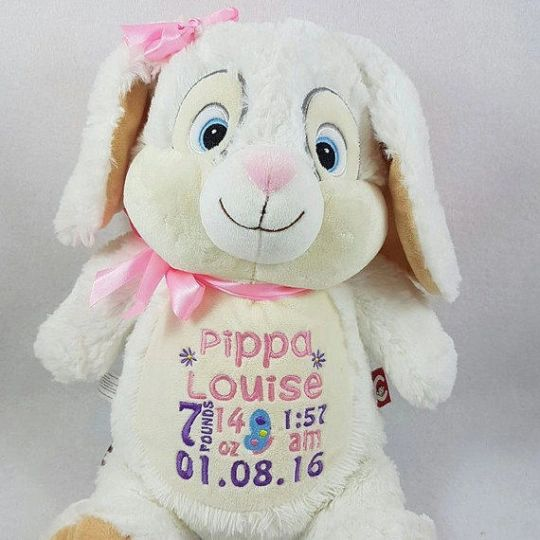 Personalized Bunny Stuffed Animal Dk Wittle One S Is A One Of A