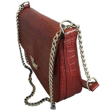 72088c2d48 Red Vanna Bag - Chain Reaction