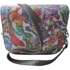 Butterfly Flap Vanna Bag - Gray