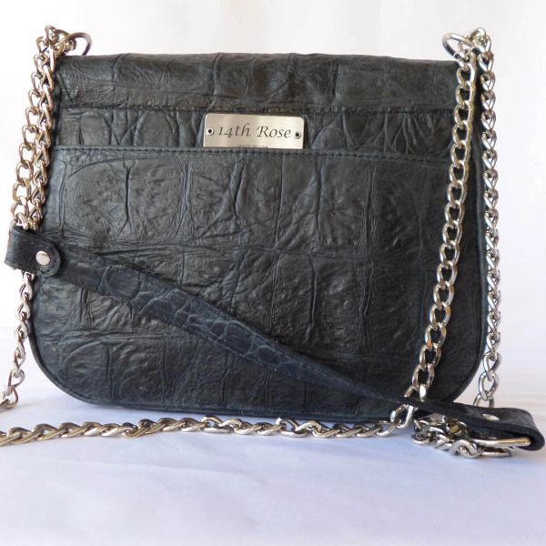 9d82be78ed Black Vanna Bag - Chain Reaction