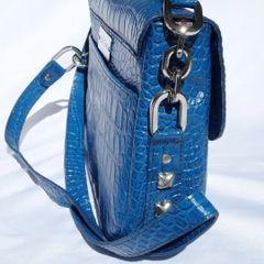 Royal Blue Vanna Bag - Loopty Loop
