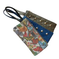 Three Leather Wristlet Bundle