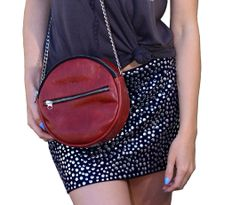 Red Leather Lolli Pop