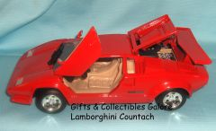 LAMBORGHINI COUNTACH Collectible Diecast Model Car 1:24 Scale MOTORMAX