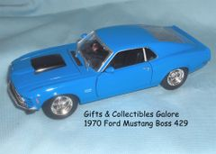 1970 Ford Mustang Boss 429 Collectible Diecast Model Car 1:24 MOTORMAX