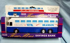 TOY: Branson Tour Bus Savings Bank Friction Powered