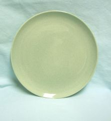 "PLATE: Vintage 10"" Dinner Plate by Taylor, Smith, T. Pebbleford Granite (Green Brown)"