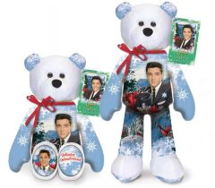 ELVIS PRESLEY BEAR #19 Collectible Elvis Plush Bear - WINTER WONDERLAND