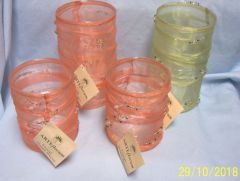 Home Decor: ARTEflorum Decorative Glasses/Vases/Easter Containers for Home or Office Decor