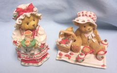 CHERISHED TEDDIES: 1995 Cute Holly & Thelma Cherished Teddies Collectibles