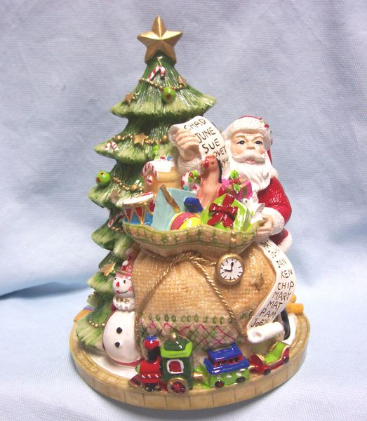 christmas decoration 8 14 musical christmas tree by fitz floyd we wish you a merry christmas
