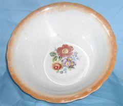 """SERVING BOWL: Vintage 10"""" Diameter Vegetable Bowl Serving Bowl by Homer Laughlin"""