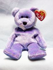 BEANIE BABIES: Ty Beanie Babies Plush Collectible Bean Bear - 1999 CUBBY II