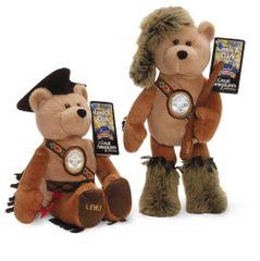 """""""Lewis & Clark"""" Nickel Bears - Westward Journey Nickel Series Plush Collectible Bears"""