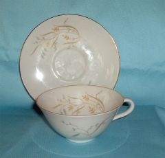 CUP and SAUCER SET Vintage China Eschenbach Baronet Germany