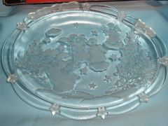 HOLIDAY DISH: Classic Oval Holiday Sweet Plate/Dish by Mikasa. Made in Germany