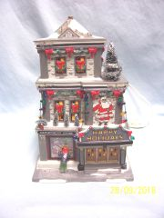 CHRISTMAS VILLAGE BUILDING: Higbee's Dept Store from Christmas Story 805027