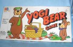 EDUCATIONAL TOY - Vintage Yogi Bear Board Game 1980 Milton Bradley Co. Ages 6-10