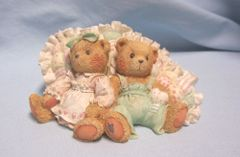 CHERISHED TEDDIES: 1992 Enesco Cherished Teddies - MICHELLE & MICHAEL
