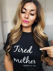 Tired mother tee