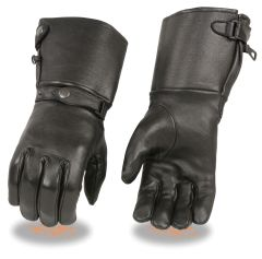 Men's Deerskin Leather Ultra Long Gauntlet Gloves