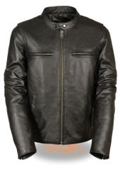 Men's Classic Vented Scooter Jacket W/Side Stretch LKM1700
