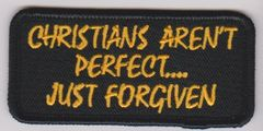 Christians Aren't Perfect