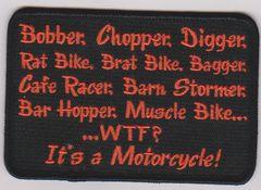 Bobber, Chopper, Digger