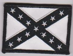 Black Confederate Flag